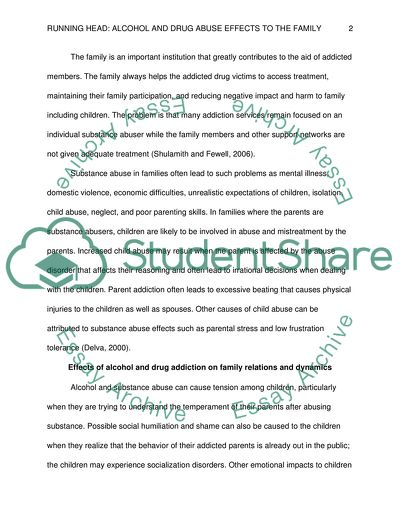 Functionalist view family essay