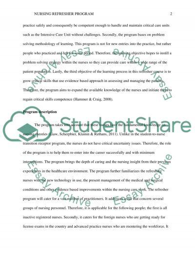 Educational Outline Program