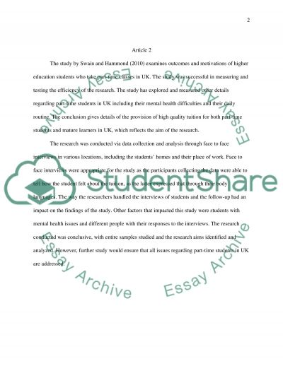 Validity of research essay example