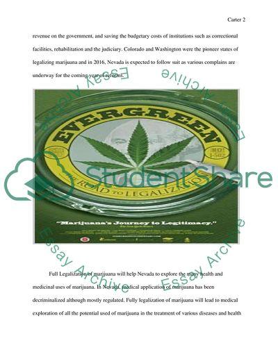 Why Nevada Should Follow Colorados Model for Marijuana Legalization