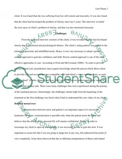 Enhancing the Patient Experience essay example