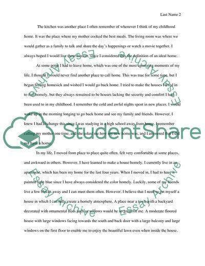 Definition essay ideas