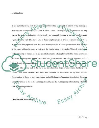 Consumer Behaviour - Report (3000 words)
