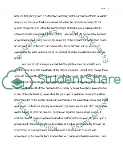 Personality and the Workplace Paper Situational Analysis Essay example