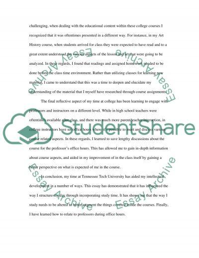University life essay example