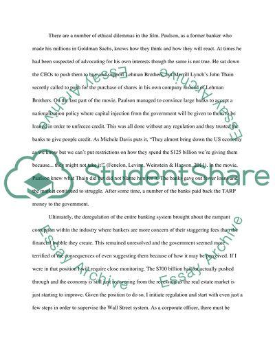 Managerial economics-Ethics assignment