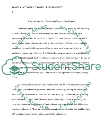 English Literature Essay Questions Piaget Vs Vygotsky Theories Of Cognative Development Obesity Essay Thesis also Thesis For A Narrative Essay Piaget Vs Vygotsky Theories Of Cognative Development Essay Essay About English Language