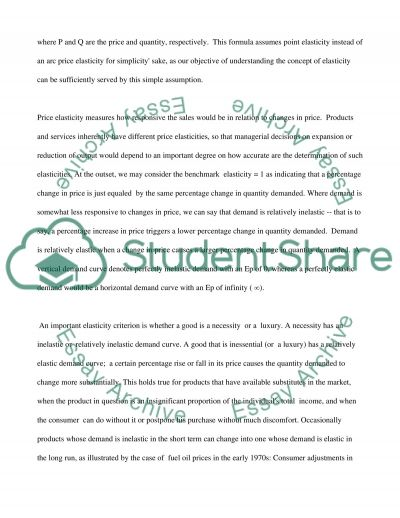 BUSINESS ECONOMICS essay example