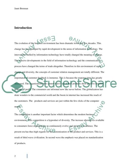 Customer and neighbourhood services( resit) report on CUSTOMER INVOLVEMENT STRATEGY WITHIN THE WORKPLACE essay example