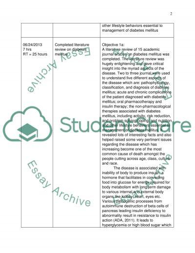 Practicum Learning essay example