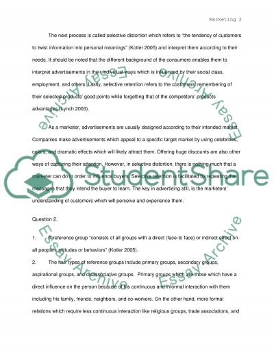 Marketing In Harvard Style essay example