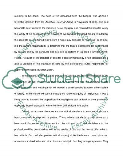 Critique a legal article essay example