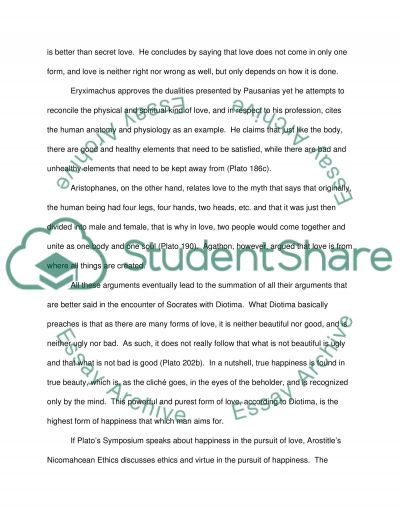 How an ideal life is to be led by men essay example