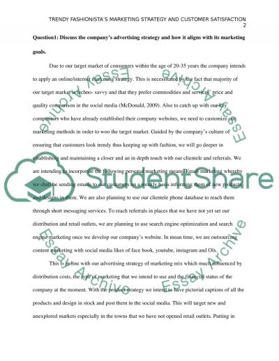 IMC and Customer Satisfaction essay example