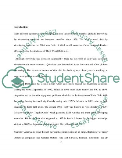 Rise the of Global Economy essay example