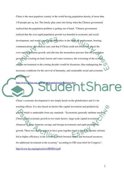 Environmental Sustainability essay example