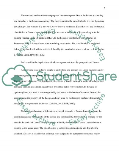 International Accounting Standards essay example