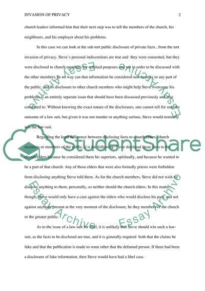 Finance major essay