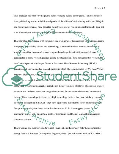 Statement of Objectives Essay Example | Topics and Well Written