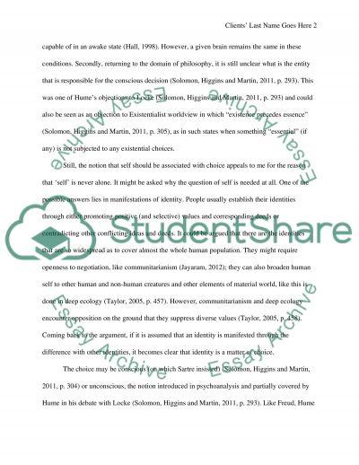 Philosophy1 essay example