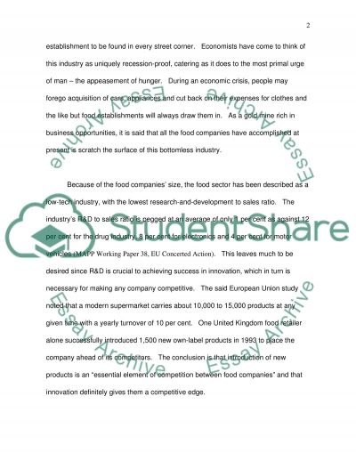 Brand Extension for Reducing Risks Essay example