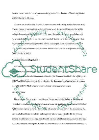 How To Start A Science Essay Discrimination And Advocacy What Is Thesis Statement In Essay also Compare Contrast Essay Papers Discrimination And Advocacy Essay Example  Topics And Well Written  Essays Term Papers