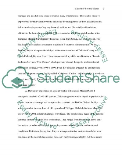 Knowledge and Skills essay example