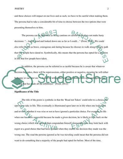 Proposal Essay Examples Poetic Devices In The Poem The Road Not Taken By Robert Frost Science Fiction Essays also Essay On English Literature Poetic Devices In The Poem The Road Not Taken By Robert Frost Essay Thesis Statement Examples For Persuasive Essays