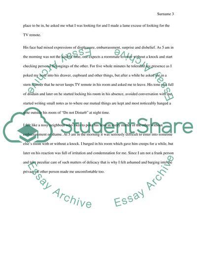 Break A Social Norm Assignment Example  Topics And Well Written  Break A Social Norm