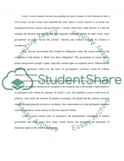 Political Science Essay essay example