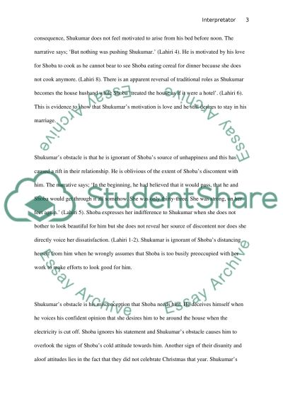 Break Down of Marriage essay example