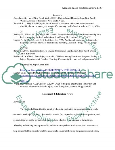 essay questions for paramedics Candidate study guide for the illinois paramedic licensure examination the  following information is intended to help you prepare for the illinois emergency.