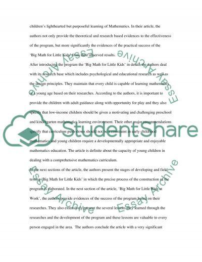 Teaching of Mathematics essay example