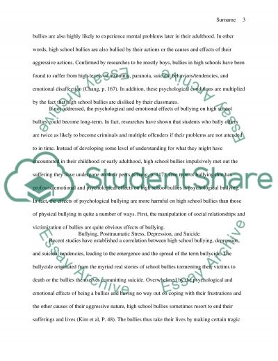 bullying essay example the introduction to cyber bullying media  cause effect essay topics middle school examples essay and paper chicago style essays ad analysis