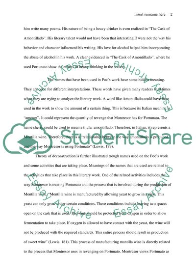 Deconstruction Essay Example  Topics And Well Written Essays    Deconstruction Examples Of Thesis Statements For Persuasive Essays also Online Report Writing Service  Essays On Science