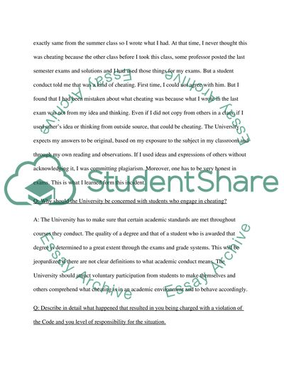 What is academic misconduct