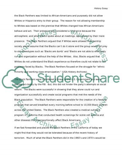Minority Groups Self Determination In California essay example