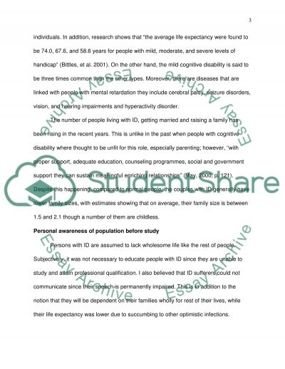 Vulnerable Population and Self- Awareness essay example