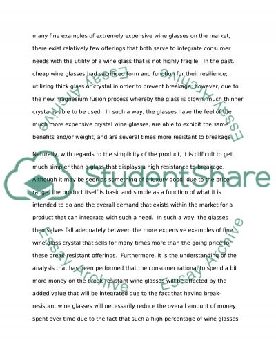 Import Project Essay example