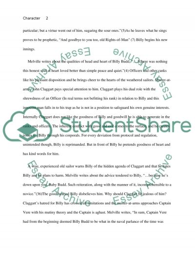 character sketch of billy budd essay example topics and well character sketch of billy budd essay example
