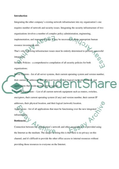 Networking Security and administration essay example