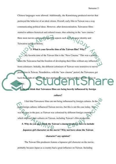 Persuasive Essay Thesis Statement Screening Asia  Commenting Asian Movie  Examples Of Thesis Statements For Essays also Thesis For A Persuasive Essay Screening Asia  Commenting Asian Movie  Essay Short Essays For High School Students