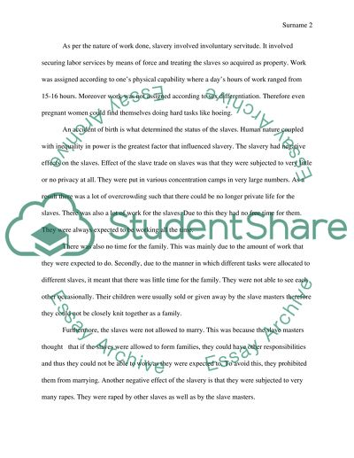 English Essay Introduction Example African American History Assessing The Antebellum Slavery English Essay Topics For College Students also Hamlet Essay Thesis African American History Assessing The Antebellum Slavery Essay Thesis Statement Examples For Argumentative Essays