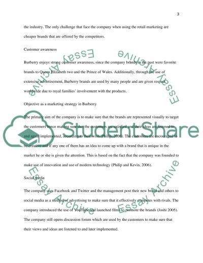 brands and branding Essay example