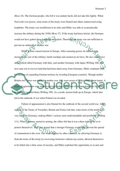 direct and direct causes of world war essay example topics and  direct and direct causes of world war 2 essay example