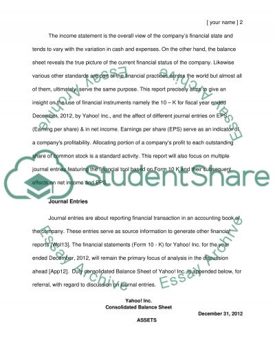 Choose a topic that talk about a company essay example