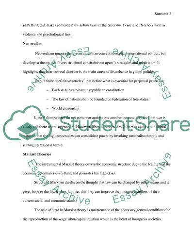 Short essay
