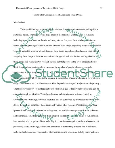 English Essay Samples The Unintended Consequences Of Drug Legalization Interesting Essay Topics For High School Students also Health Insurance Essay The Unintended Consequences Of Drug Legalization Essay Writing A High School Essay