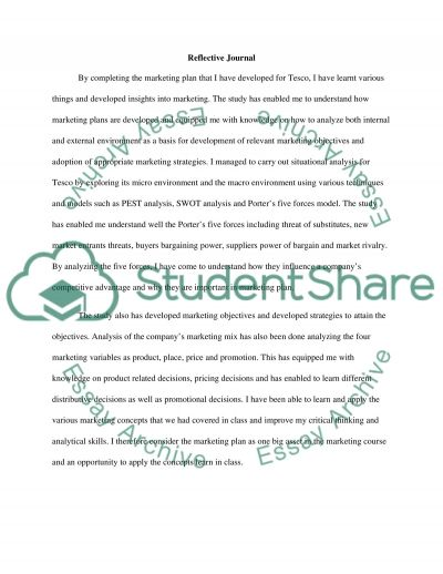 Marketing Planning essay example