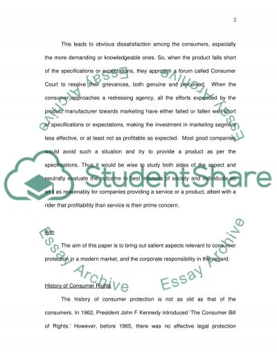 Corporate Responsibility Essay